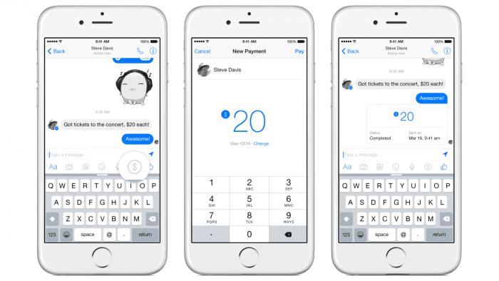 Facebook: US-Nutzer können einander Geld überweisen