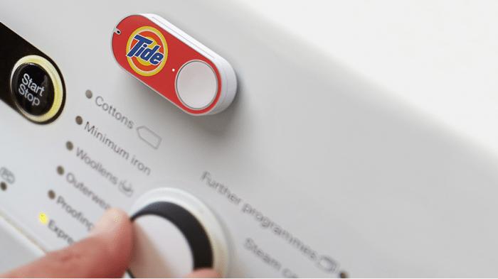 Homeshopping auf Knopfdruck: Amazon stellt Dash-Buttons vor