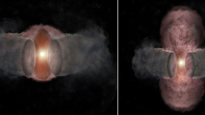 Astronomen beobachten Dynamik einer jungen Riesensonne