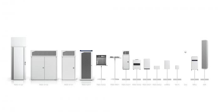 Beim Test kam eine regulär verfügbare, kommerzeille Basis-Station von Ericsson zum Einsatz.
