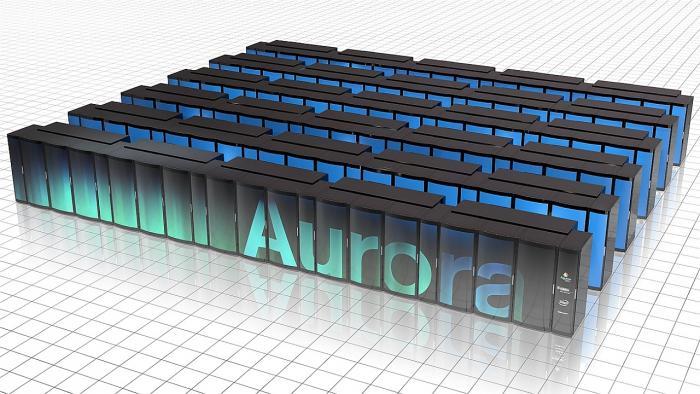Supercomputer Aurora von Intel und Cray
