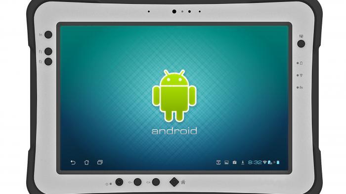 Ruggedized Android-Tablet für Fabrik und Baustelle
