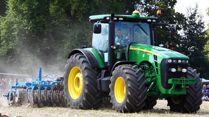 Finger weg von deinem eigenen Traktor