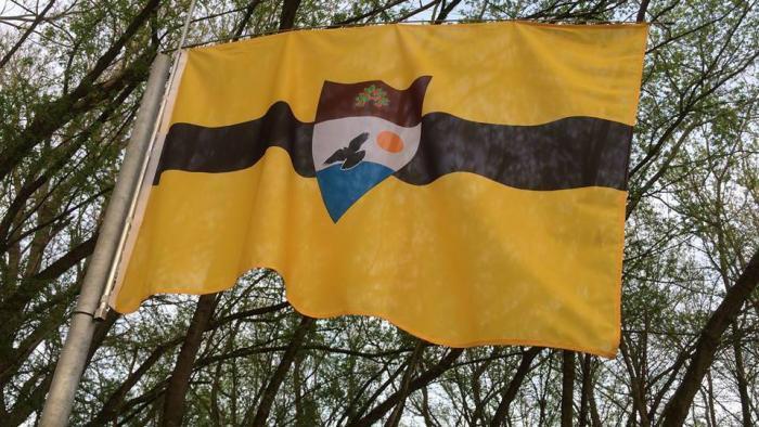 Nationalflagge von Liberland