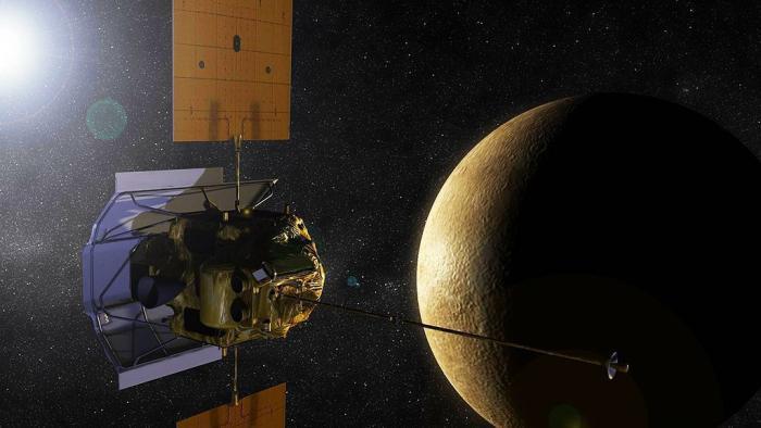 Ende mit Knall: Nach getaner Arbeit soll NASA-Sonde auf Merkur fallen