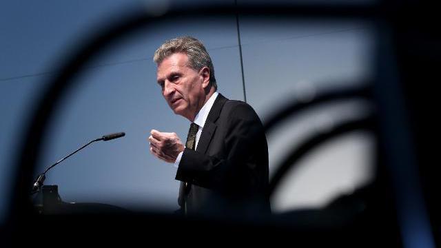 Oettinger plädiert für neuen Anlauf zur Vorratsdatenspeicherung auf EU-Ebene
