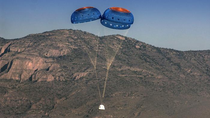 Amazon-Chef Bezos gelingt Raketen-Test für Weltraum-Projekt
