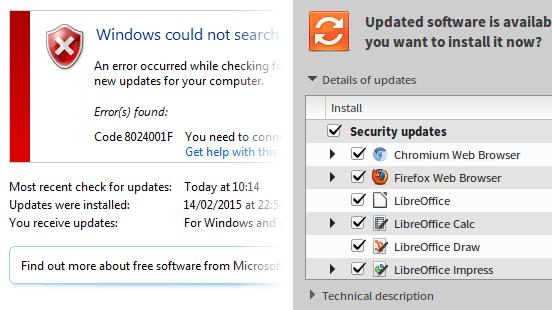 Kommentar: Microsoft kupfert Update-Technik bei Linux ab