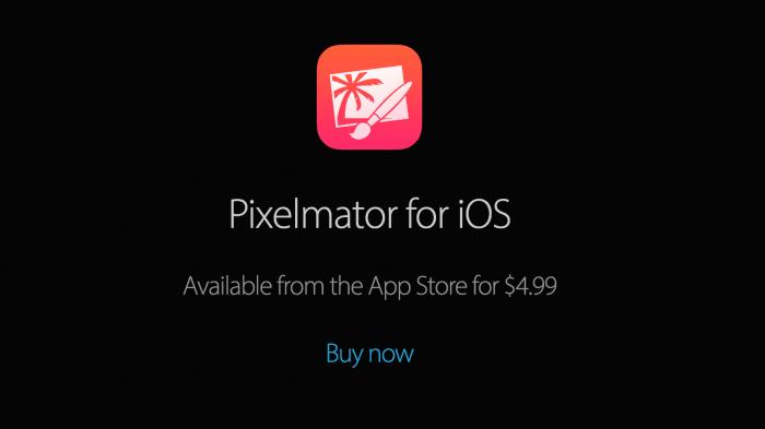 Pixelmator fürs iPad: Halber Preis und iPhone-Version im Anflug