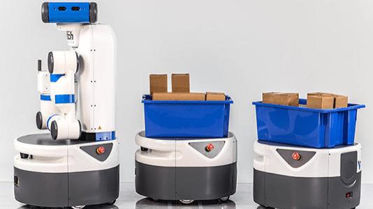 Roboter: Fetch und Freight statt Picker und Transporteur