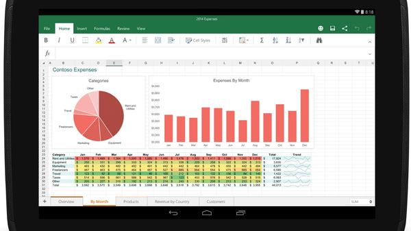 Office-Apps für Android: Microsoft gewinnt Sony und LG als Partner