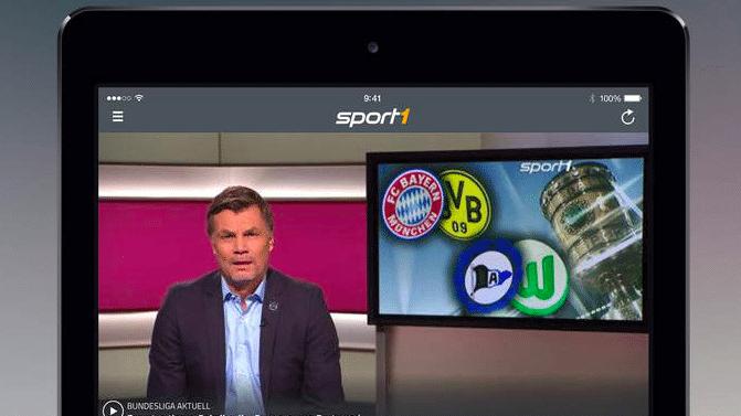 Fernsehsender Sport1 streamt auf iPhone und iPad