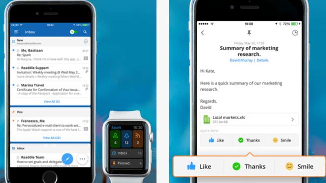 Spark: Neuer E-Mail-Client von Readdle