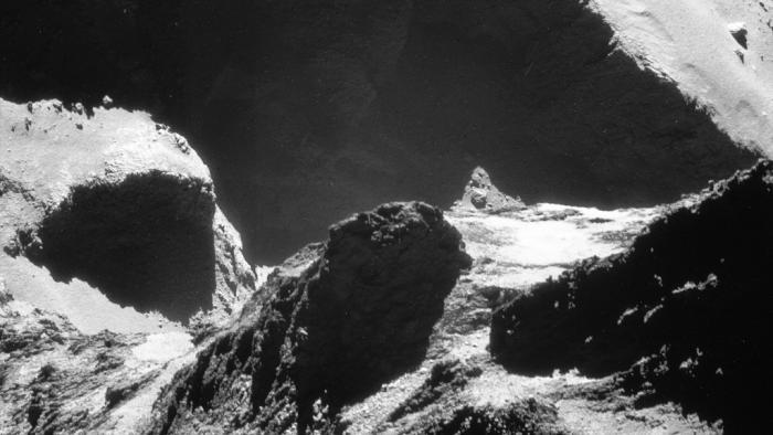 ESA-Sonde Rosetta: Neue Bilderflut des Kometen