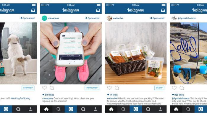 Instagram weitet Werbung aus – auch mit Hilfe von Daten aus Facebook-Profilen