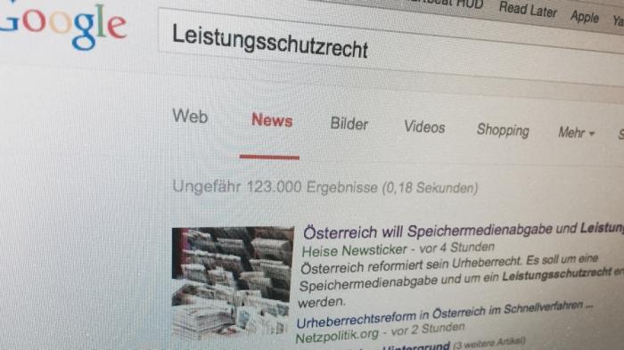 """""""Husch-Pfusch-Gesetz"""": Österreichische Journalisten kritisieren geplantes Leistungsschutzrecht"""
