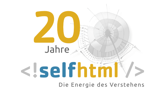 SelfHTML wird 20