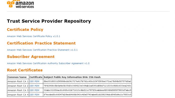 Amazon will zur SSL-Zertifizierungstelle werden