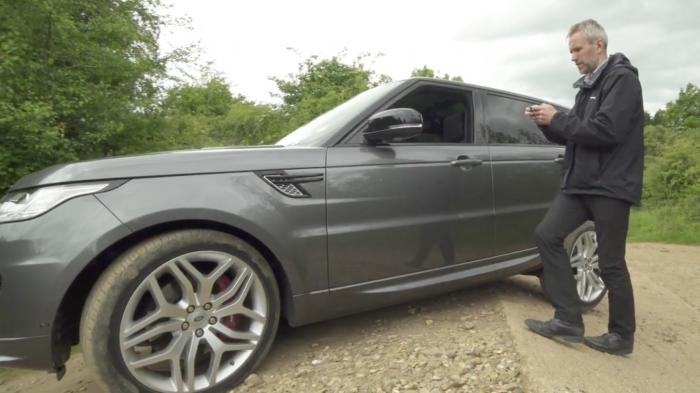 Fernbedienung für Jaguars Geländewagen