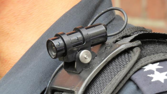 Bodycam Polizei Hamburg