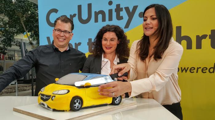 CarUnity: Dr. Jan Wergin, Tina Müller und Bettina Zimmermann