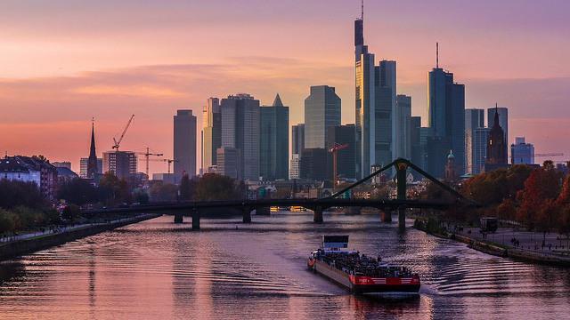 Panorama: Frankfurt Skyline