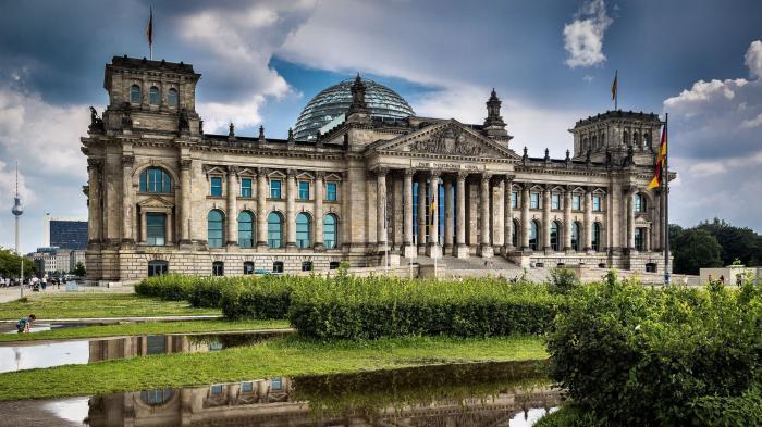 Gebäude deutscher Bundestag