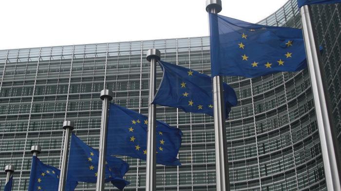 Fahnen EU Logo