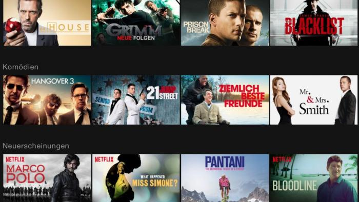 Streaming Angebot Netflix