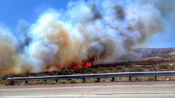 North Fire, Kalifornien