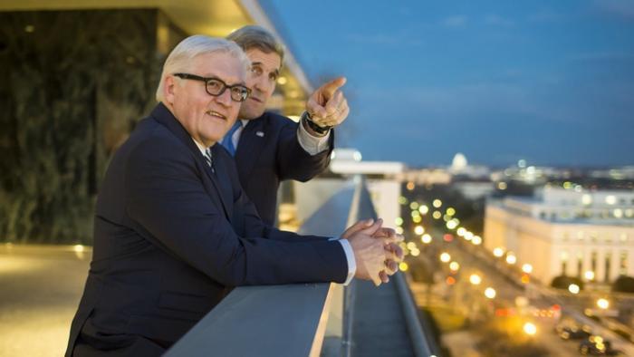 Frank Walter Steinmeier und John Kerry