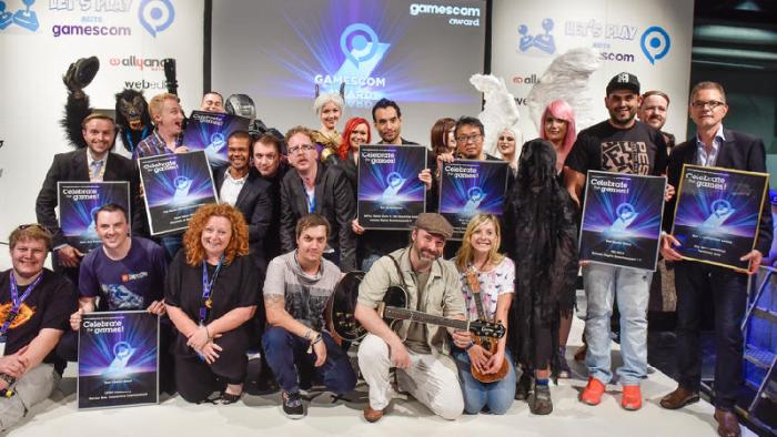 Gewinner des gamescom award 2015