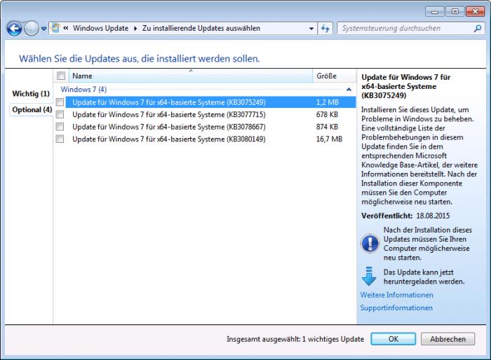 """Angebliche """"Schnüffel-Updates"""" für Windows 7 und 8.1"""