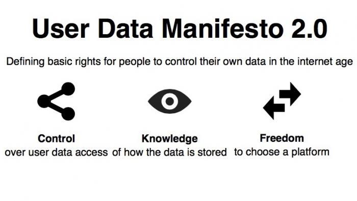 Free-Software-Manifest: Daten gehören in die Hände der Nutzer