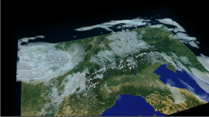 Besseres Wetter in der Schweiz dank 1 Million Shader-Rechenkernen