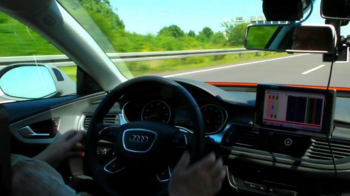 Autonomer Audi A7