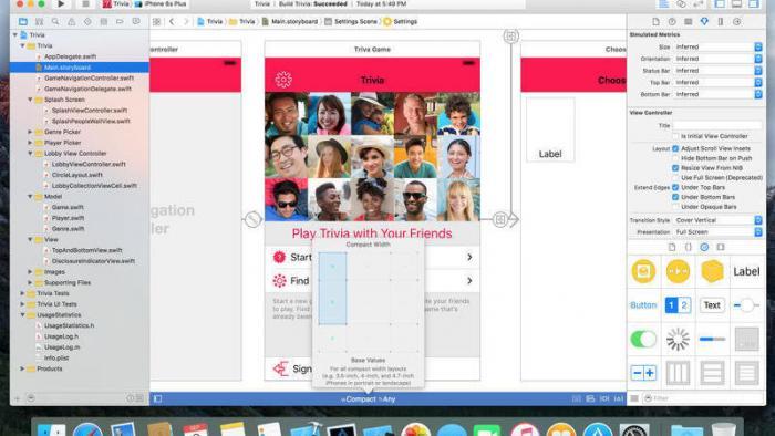 Xcode: Original aus dem App Store