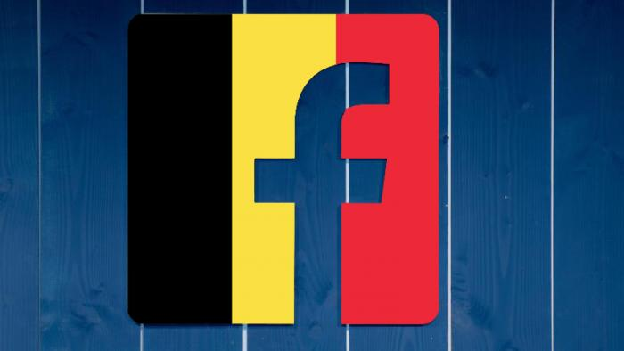 Facebook-Logo, Belgien