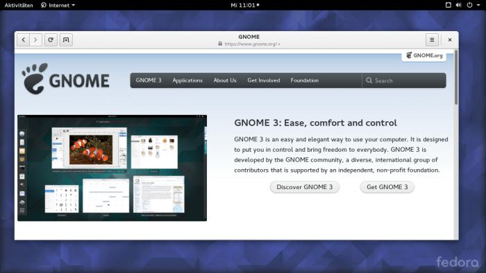 Gnome 3.18 freigegeben
