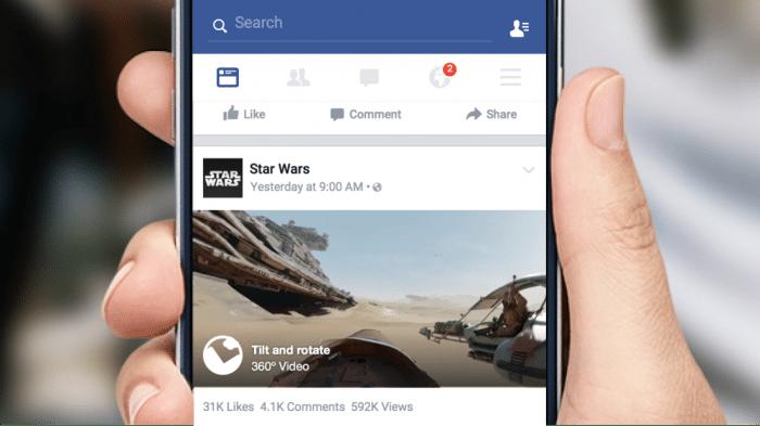 360°-Videos bei Facebook