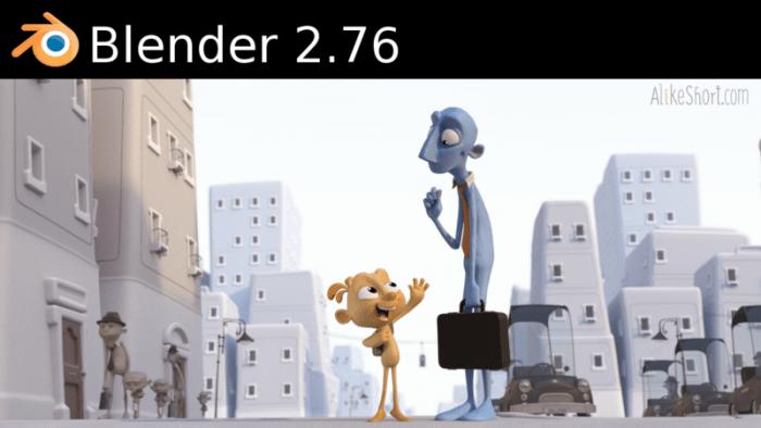 Open-Source-3D-Paket: Blender 2.76 legt Tempo zu