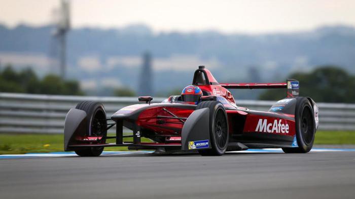 Formula E: Elektro-Rennwagen