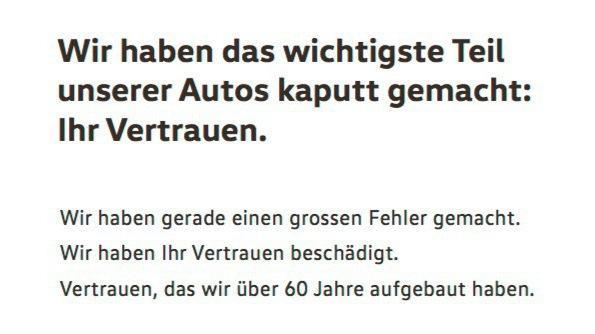 Abgas-Skandal: VW quält sich mit der Transparenzfrage