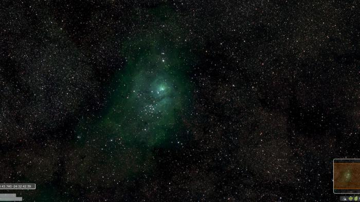 Panorama-Ausschnitt der Milchstraße