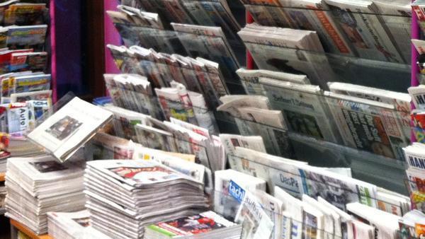Zeitschriftenstand