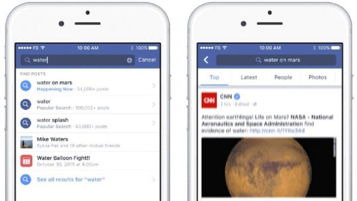 Facebook: Search FYI