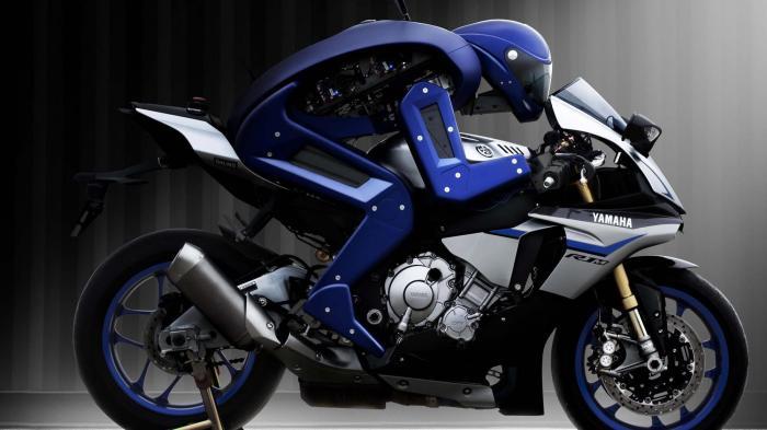 Motobot auf Yamaha R1