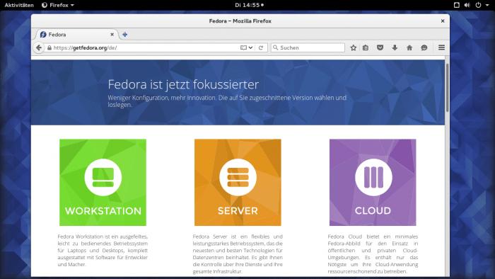 Fedora 23 vorgestellt: BIOS-Aktualisierung soll normales Update werden