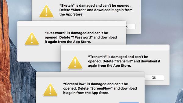 Mac App Store Problem
