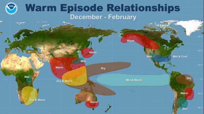 UN-Meteorologen: Klimaphänomen El Niño bedroht weite Teile der Welt